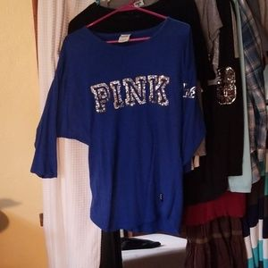 Pink vintage quarter sleeve tee, SO PRETTY!